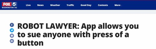 Fox details how DoNotPay makes it easier to fight companies by suing them in small claims court