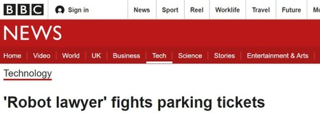 BBC on DoNotPay's app to appeal parking tickets