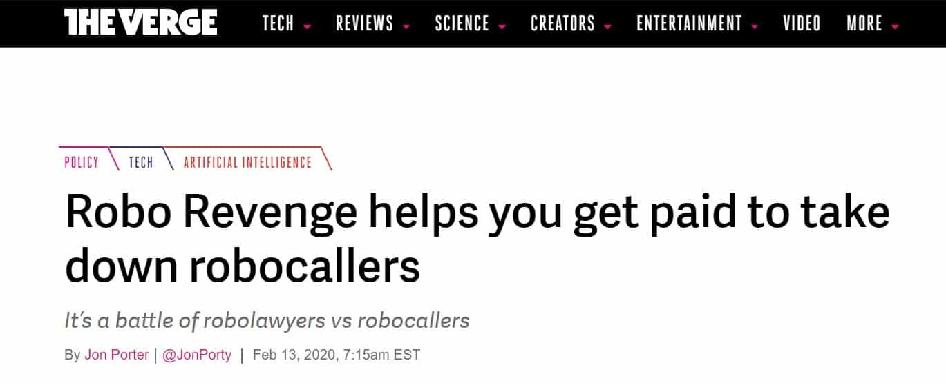 Cancel robocalls and sue robocallers