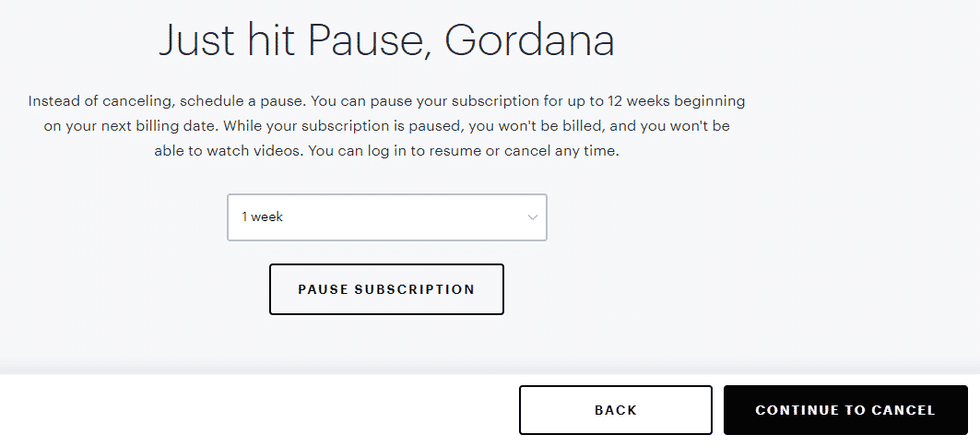 Canceling Hulu Subscription