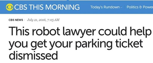 cbs describes how donotpay can help people save millions on parking citations